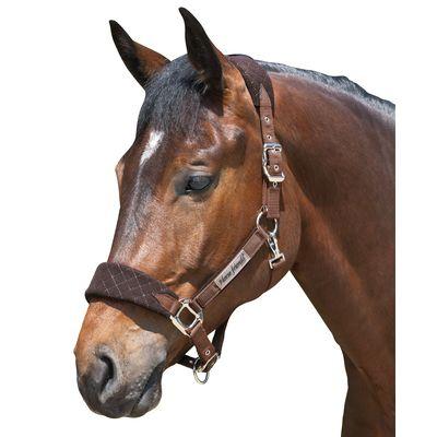 Horse-friends Fleecehalfter San Diego choco | Pony