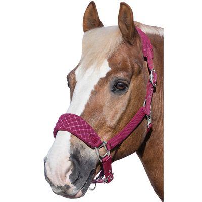 Horse-friends Fleecehalfter San Diego rhabarber | Warmblut