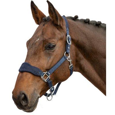 Cheval de Luxe Fleecehalfter Nizza marine   Pony