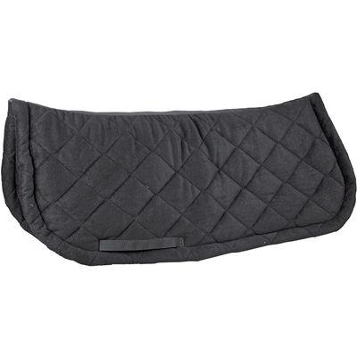 Loesdau Voltigierdecke aus Fleece schwarz
