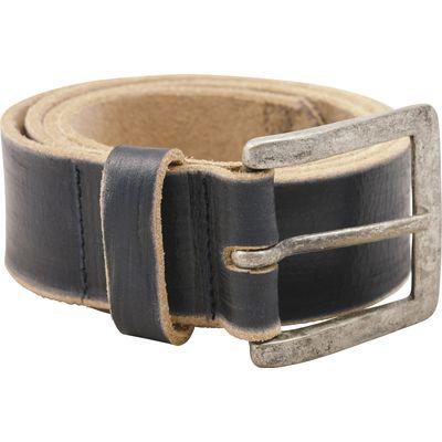 L-pro West Gürtel aus Leder schwarz | 110 cm