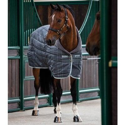 Horseware Stalldecke RHINO Original Stable Medium Vari-Layer charcoal | 155 cm