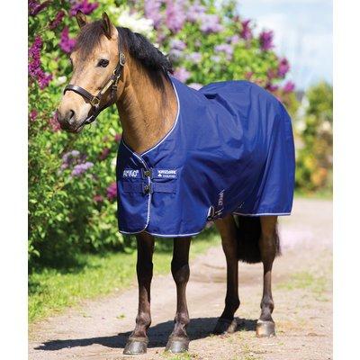 Horseware Outdoordecke AMIGO Hero ACY Medium Pony atlantic blue/atlantic blue & ivory | 100 cm