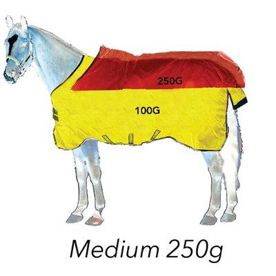 Horseware Outdoordecke RHINO Wug Vari-Layer Medium