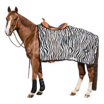 L-pro West Fliegen-Ausreitdecke Wildlife zebra | S (bis 125 cm)
