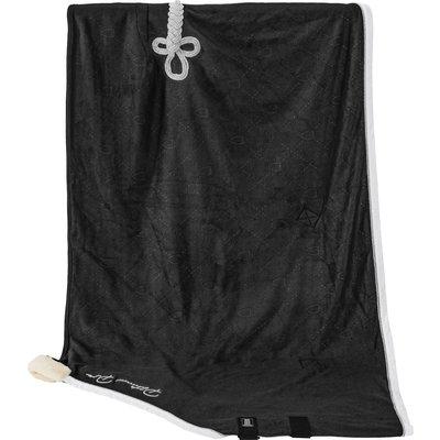 ESKADRON Platinum Pure Abschwitzdecke Fleece Stamped black | 135 cm