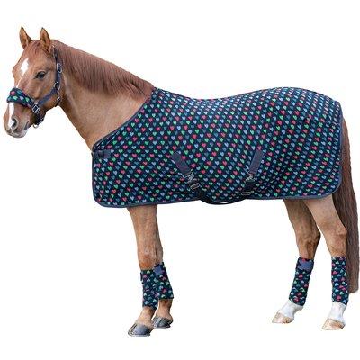 Horse-friends Transport- und Abschwitzdecke Pony Love