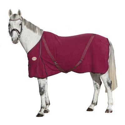 Horse-friends Abschwitzdecke Polarfleece mit Kreuzbegurtung