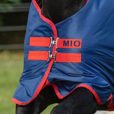 Horseware Outdoordecke MIO Turnout Lite darkblue/darkblue & red | 115 cm