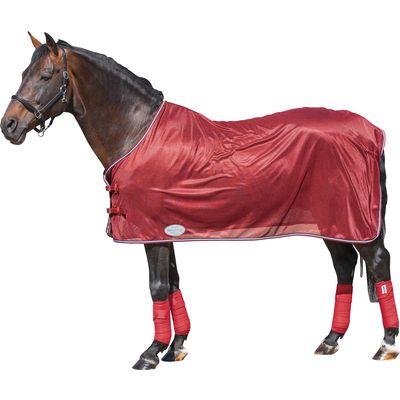 Horse-friends Fliegendecke Korsika rubinrot | 115 cm