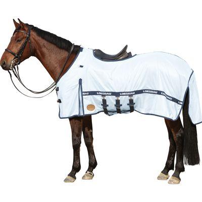 Horse-friends Fliegenausreitdecke New Brasilia eisblau | 155 cm