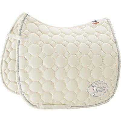 ESKADRON Platinum Schabracke Cotton Emblem offwhite | Warmblut/Vielseitigkeit