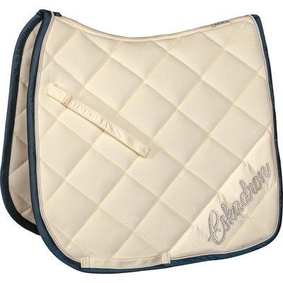 ESKADRON Classic Sports Schabracke Velvet Crystal blanc | Warmblut/Vielseitigkeit