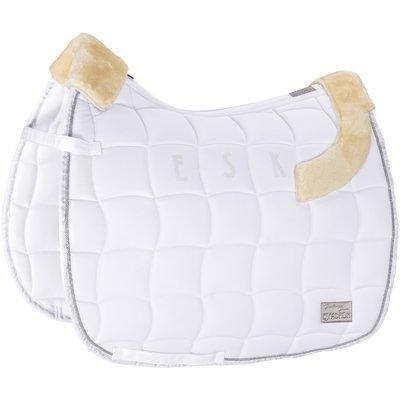 ESKADRON Platinum Pure Schabracke Inno-Pad white | Warmblut/Vielseitigkeit
