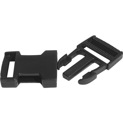Cheval de Luxe Steckverschluss Nantes schwarz | ca. 34 x 64 mm