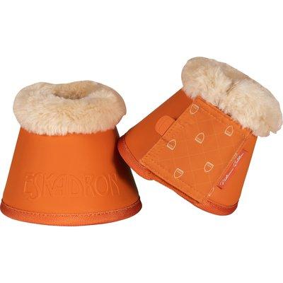 ESKADRON Platinum Sprungglocken Faux Fur orange | L
