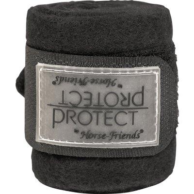 PROTECT by Horse-friends Bandagen, für Mini-Shetty schwarz