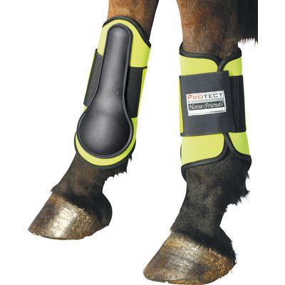 PROTECT by Horse-Friends Reflex-Gamaschen, hinten