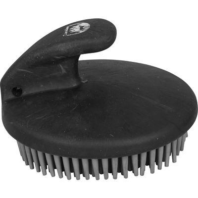 Loesdau Massage-Bürste fein easy horsebrush schwarz