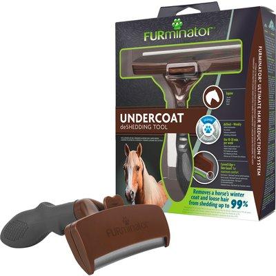 FURminator für Pferde braun