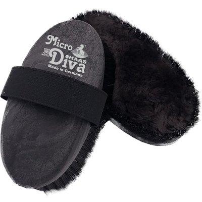 HAAS Bürste Micro Diva schwarz