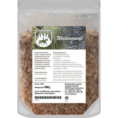 Loesdaus Pferdefit Weidenrinde 500 g