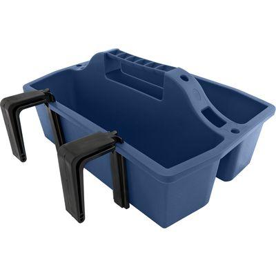 Putzbox mit Haken kobaltblau