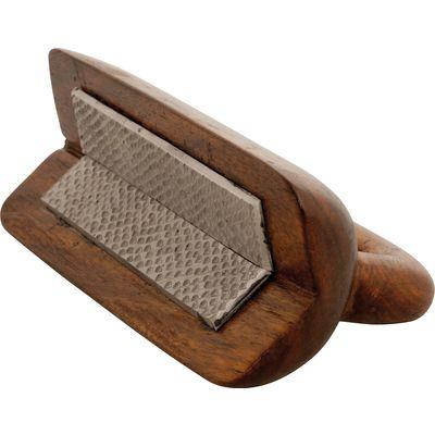 Loesdau Hufraspel aus Holz braun