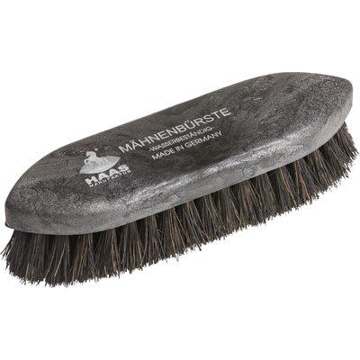 HAAS Mähnenbürste Kokos black black