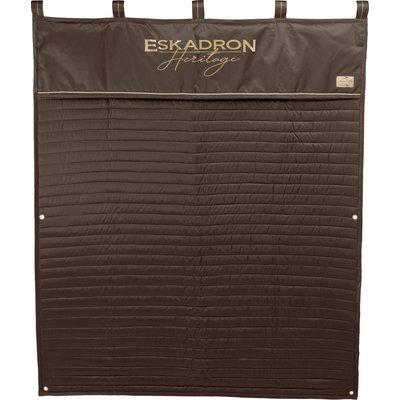 ESKADRON Heritage Boxenvorhang Glossy blackmocca