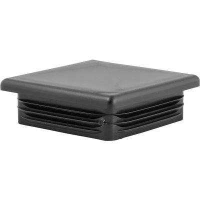 Loesdau Ersatz-Kunststoff-Stopfen schwarz | 60 x 60 mm