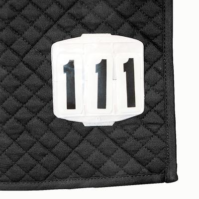 Turniernummern mit Klettverschluss