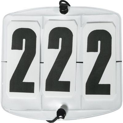 Turniernummern 3-stellig