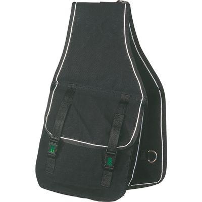 Doppel-Satteltasche schwarz
