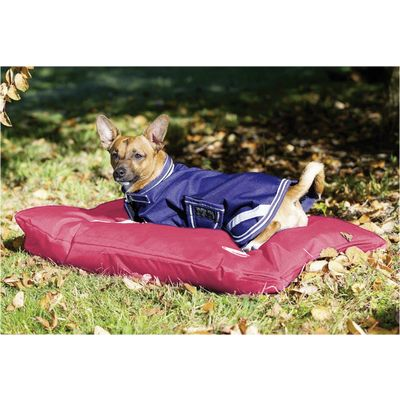 Horseware Hundebett AMIGO Dog Bed red | L (73x67x3 cm)