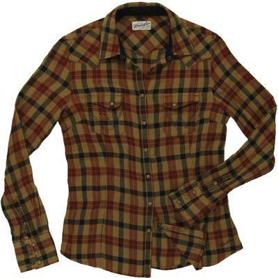 Wrangler Shirt Apple Cinnamon XS