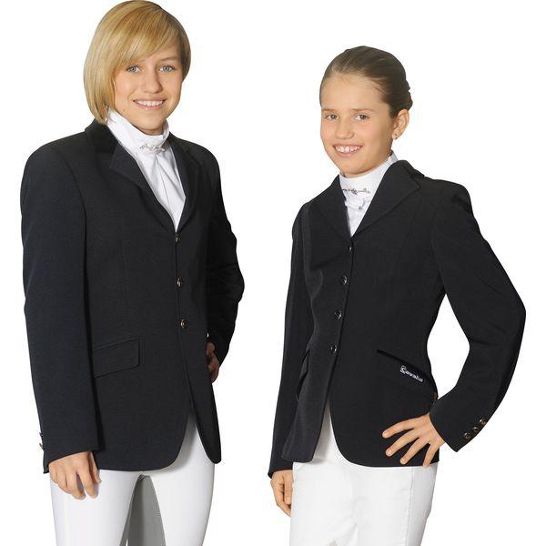 Cavallo Turnierjacket Galathea Girl, für Jugendliche schwarz   164