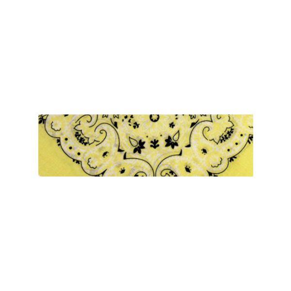 Bandana Paisley gelb
