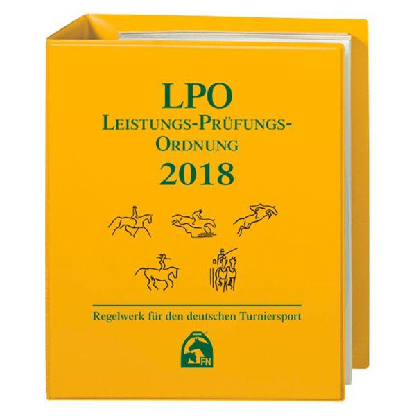 LPO Leistungs Prüfungs Ordnung 2018, FNverlag