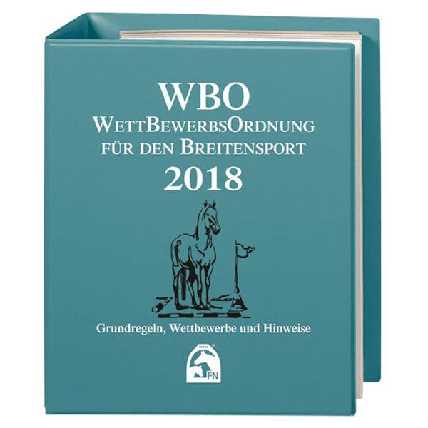 WBO Wettbewerbsordnung für den Breitensport 2018, FNverlag