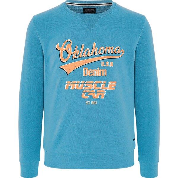OKLAHOMA Premium Denim Sweatshirt