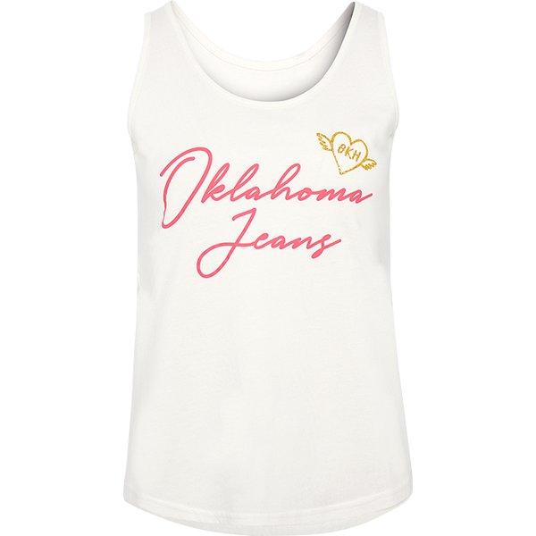 OKLAHOMA Jeans Tanktop snow white | XXL