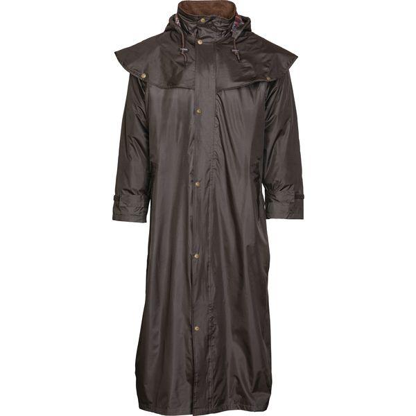 SCIPPIS Regenmantel Stockman Coat braun | XS