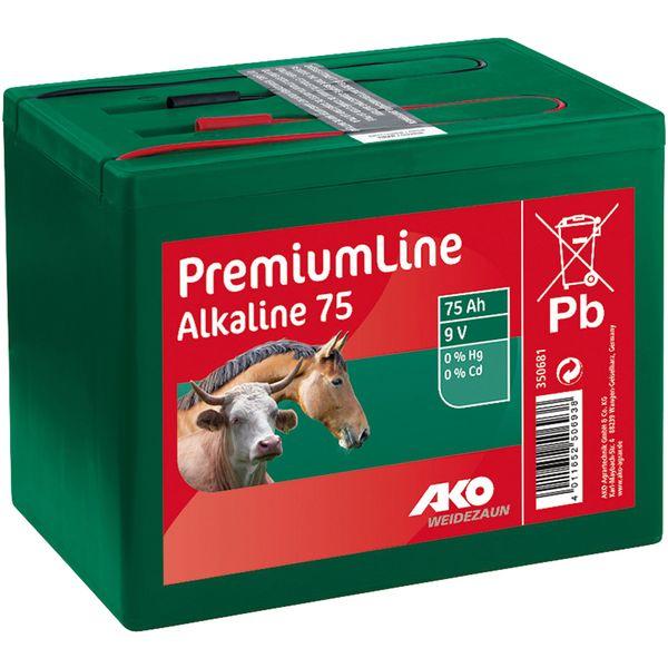 AKO Trockenbatterie Alkaline 9V/75Ah