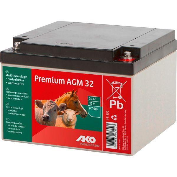 AKO Premium AGM Batterie 12V/32Ah