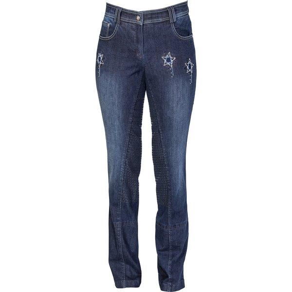 black forest Jeans-Jodhpur Reithose Grip navy used | 36