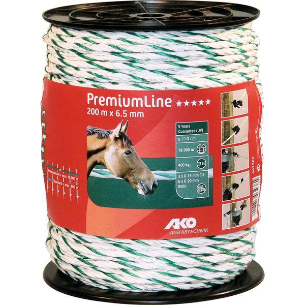 AKO Elektroseil PremiumLine, 6,5 mm, 200 Meter