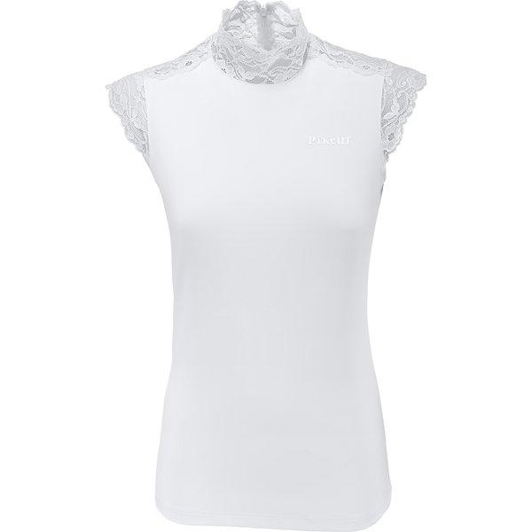 PIKEUR Turniershirt Balalaika white | 44