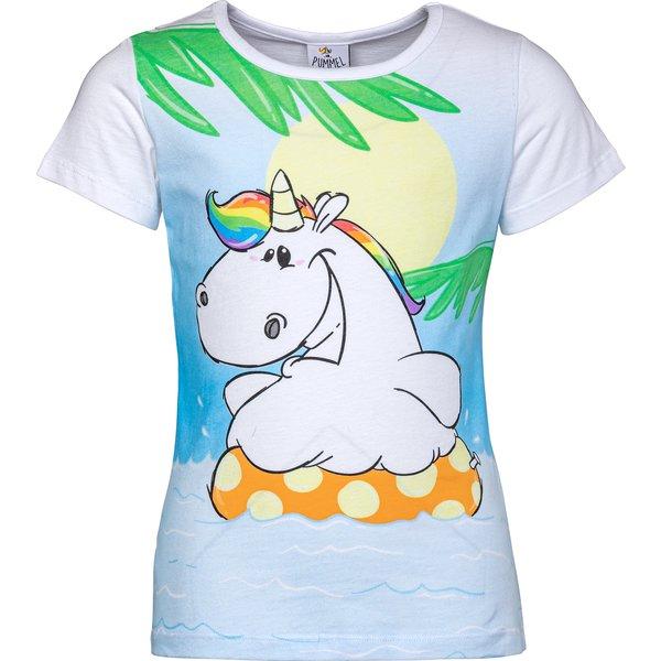PUMMELEINHORN T-Shirt weiß | 128
