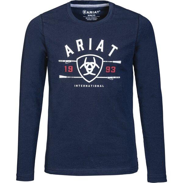 ARIAT Langarmshirt International Logo Tee